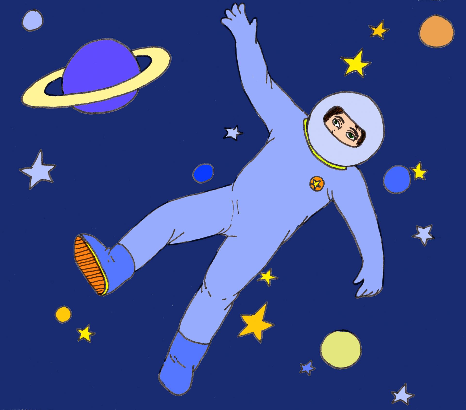 illustration Fête de l'espace