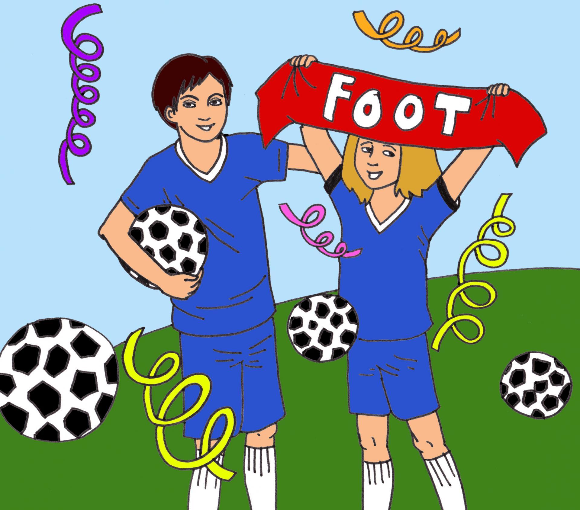 illustration Foot