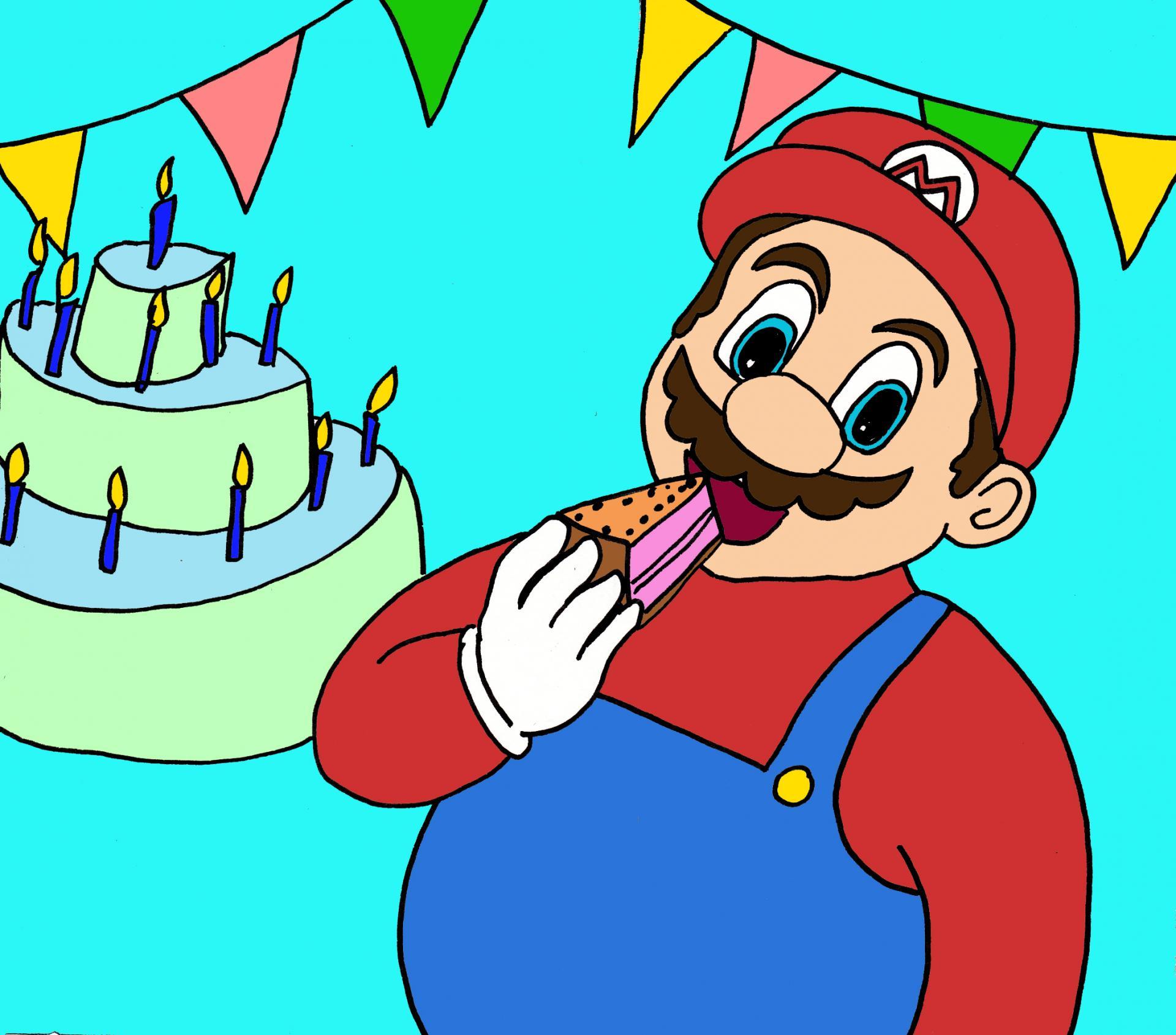 illustration Super Mario