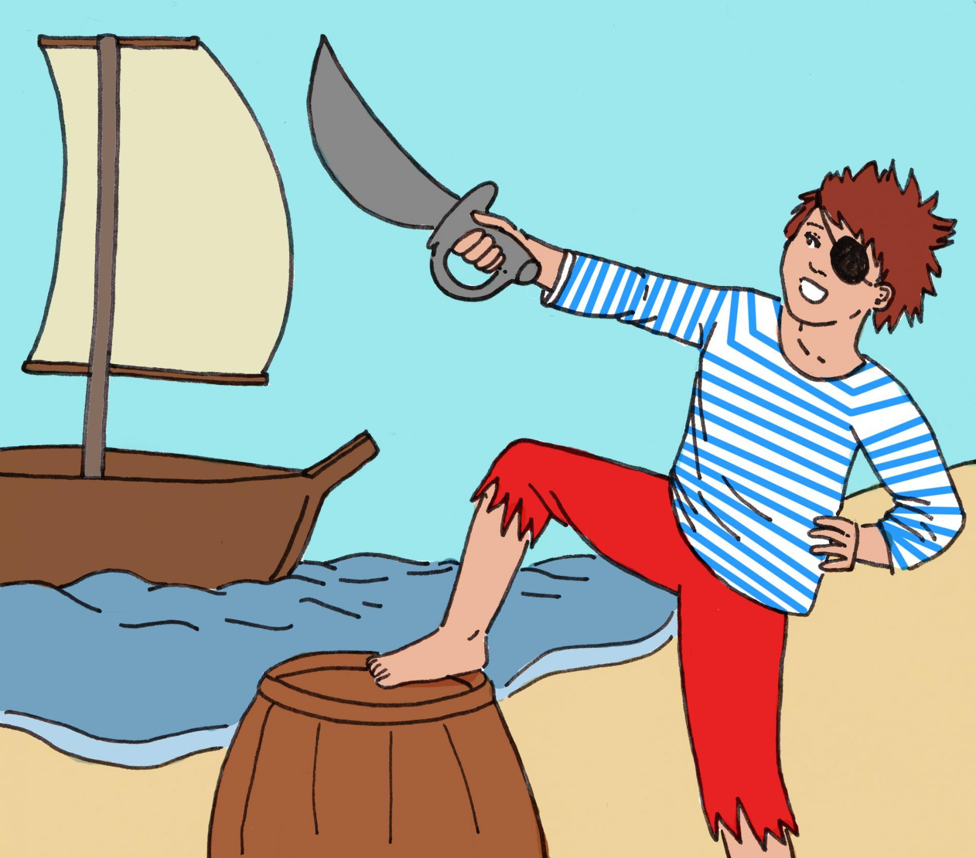 illustration La fête des Pirates