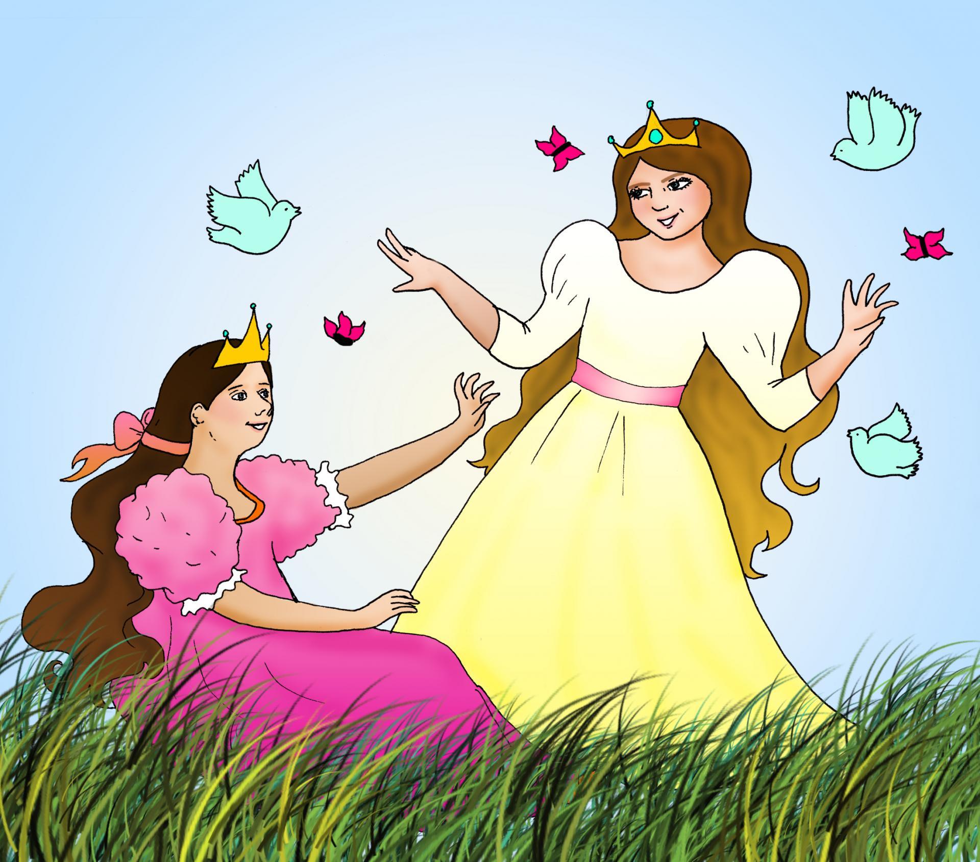 illustration Princes et Princesses