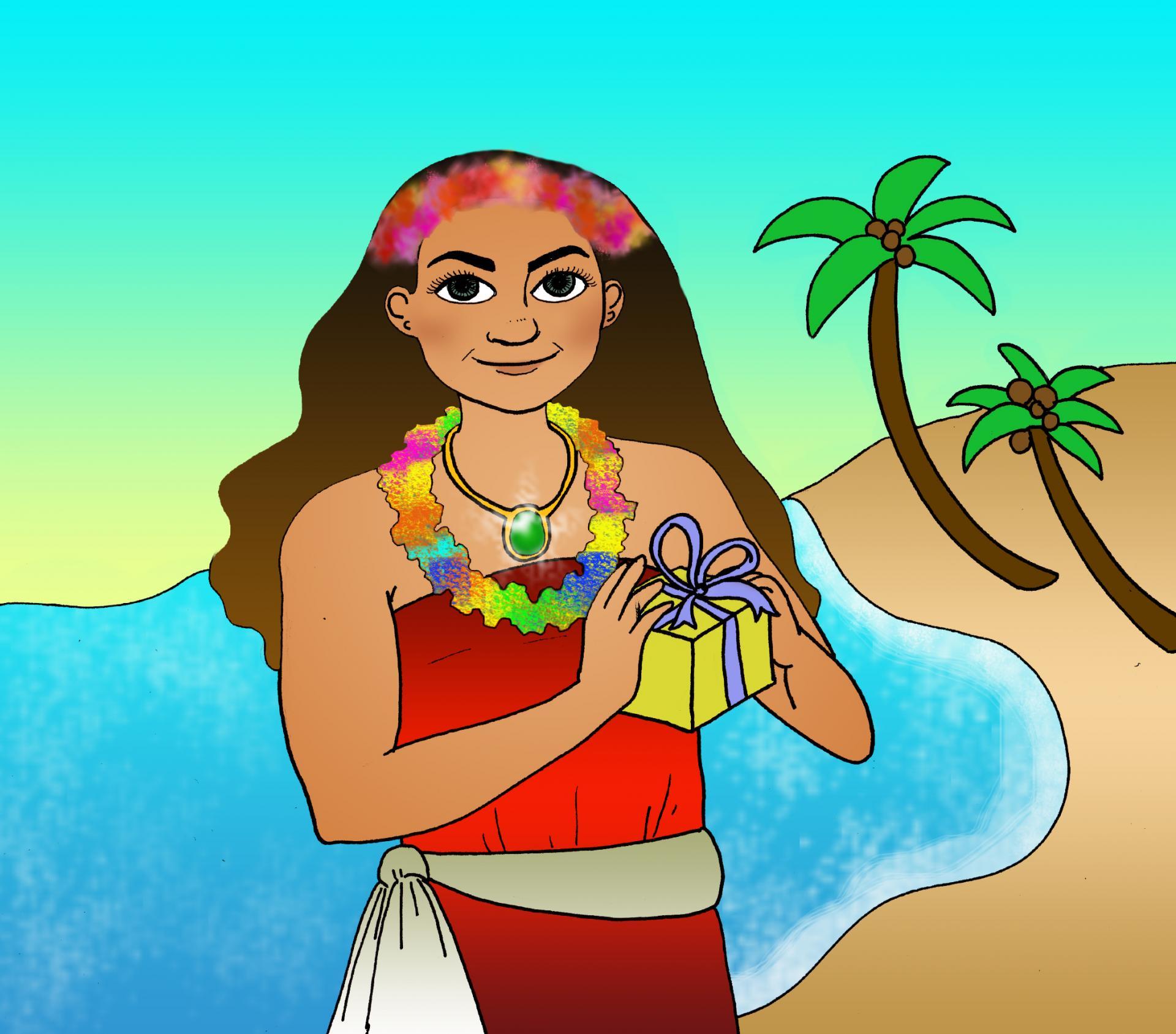 illustration Vaïana